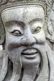 Chinese statue. Close-up in a temple Stock Photos