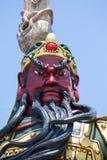 Chinese statue of Guan Yu in island Koh Samui, Thailand Stock Photos