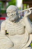 Chinese statues sculpture. Of chinese temple Royalty Free Stock Photo