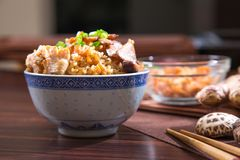 Chinese steam rice Royalty Free Stock Photography