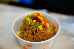 Chinese steam rice Stock Image