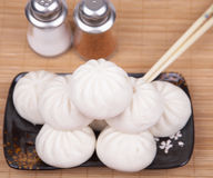 Chinese steamed bun Stock Photography