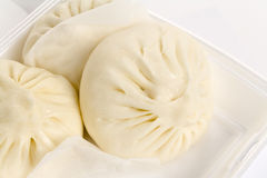 Chinese steamed bun Stock Photos