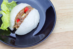 Chinese steamed bun Royalty Free Stock Photography