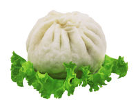A  Chinese steamed bun Royalty Free Stock Photography