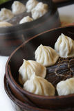 Chinese steamed buns. Is a traditional food in China stock images