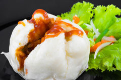 Chinese steamed buns Stock Images