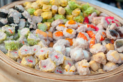 Chinese steamed dim sum Royalty Free Stock Image