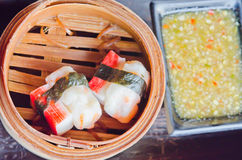 Chinese steamed dim sum Royalty Free Stock Photography