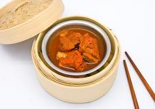 Chinese steamed dimsum pork Stock Photo