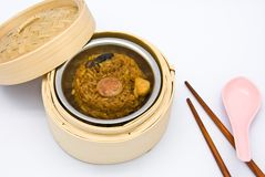Chinese steamed dimsum rice Stock Images