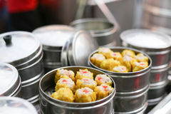 Chinese steamed dimsum Stock Photography