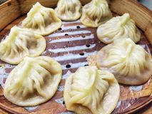 Chinese steamed dumpling Royalty Free Stock Image