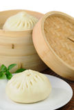 Chinese Steamed Dumplings stock photo