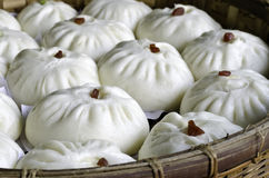 Chinese Steamed pork bun Royalty Free Stock Photo