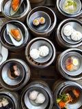 Chinese steamed pork dumplings Royalty Free Stock Photo