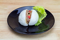 Chinese steamed stuff bun Royalty Free Stock Images