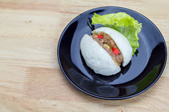 Chinese steamed stuff bun Royalty Free Stock Photography