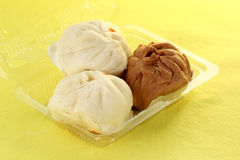 Chinese steamed stuff bun Stock Image