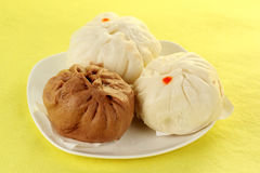 Chinese steamed stuff bun Stock Photo
