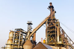 Chinese steel mill equipment Royalty Free Stock Photo