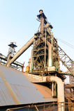 Chinese steelworks equipment Royalty Free Stock Photos