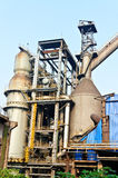 Chinese steelworks equipment Royalty Free Stock Image