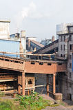 Chinese steelworks industrial building Stock Images