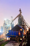 Chinese steelworks Industrial building Royalty Free Stock Image