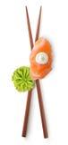 Chinese sticks and sushi Stock Photo