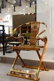 Chinese stijl die stoel vouwen Royalty-vrije Stock Afbeeldingen