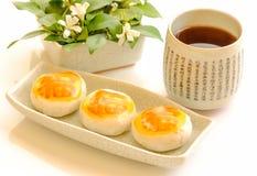 Chinese stijl teatime Royalty-vrije Stock Afbeeldingen