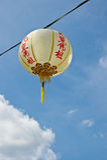 Chinese stijllantaarn Royalty-vrije Stock Afbeeldingen