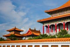 Chinese stijltempel Royalty-vrije Stock Afbeeldingen