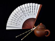 Chinese Still Life - 2. Chinese style still life royalty free stock photos