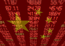 Chinese Stock Market Royalty Free Stock Photography