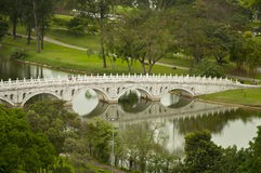 Chinese Stone Bridge Royalty Free Stock Images