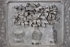 Chinese stone carving Stock Images