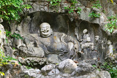 Chinese stone carving Stock Photos