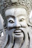 Chinese stone dolls face Royalty Free Stock Images