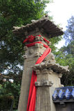 Chinese stone gate Stock Photography