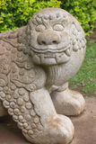 Chinese Stone Lion Royalty Free Stock Photos
