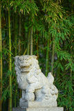 Chinese stone lion Royalty Free Stock Photography