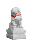 Chinese stone lions Stock Photo