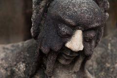 Chinese stone statue. Stone statue in Wat Pho, Bangkok, Thailand Royalty Free Stock Image