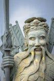 Chinese stone statue in Wat Pho, Bangkok, ThailandChinese stone Royalty Free Stock Images