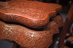 Chinese stools Royalty Free Stock Photos