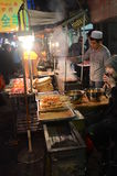 Chinese street cooking Royalty Free Stock Images