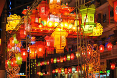 Chinese street decoration Stock Photography