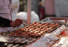 Chinese Street Foods. The closeup of Chinese Street Foods stock photo